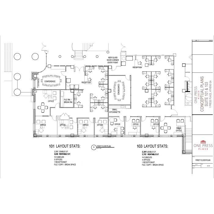 Conceptual Plan Suites